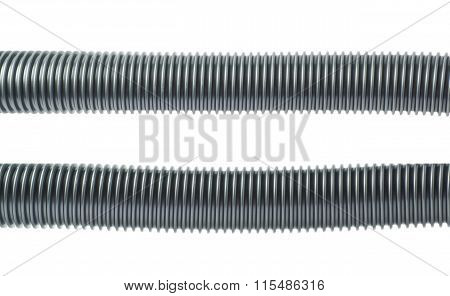 Vacuum cleaner's hose isolated