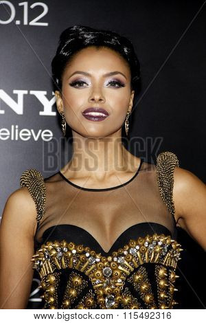 Kat Graham at the Los Angeles Premiere of