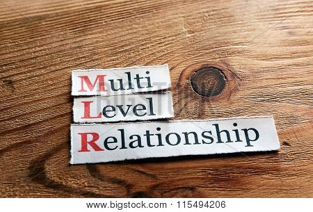 Mlr- Multi Level Relationship