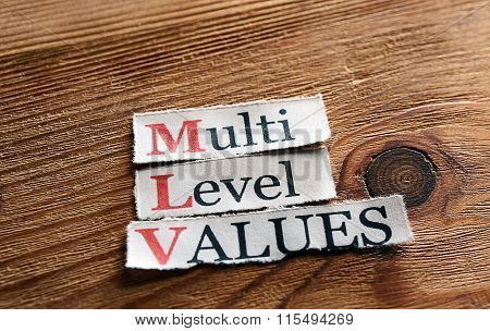 Mlv- Multi Level Values