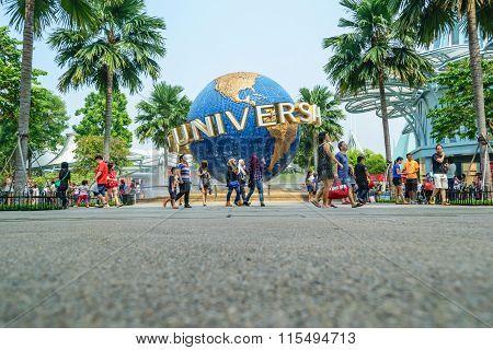 Travel Asia at Sentosa Island Singapore.