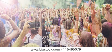 Holi Festival celebration