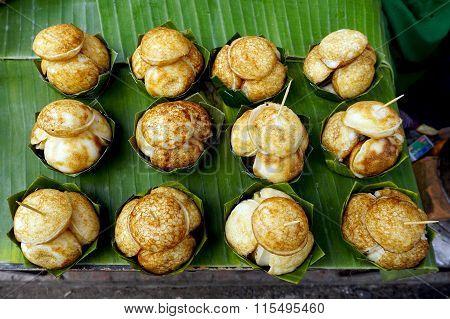Coconut-rice Hotcakes