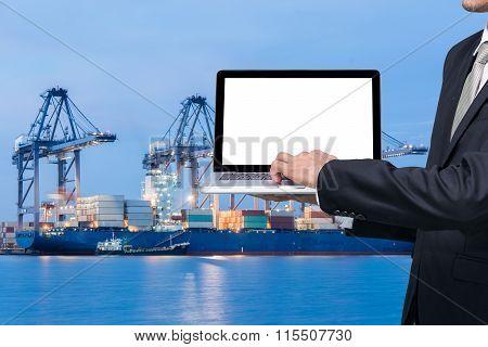 Engineering Working Hold Conputer Notebook