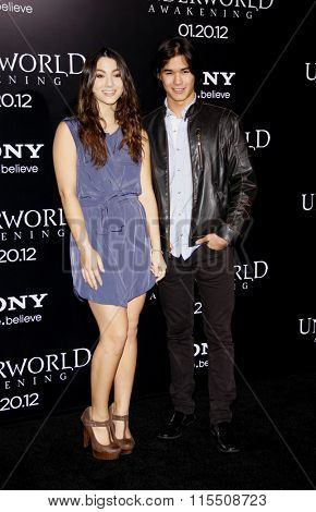 BooBoo Stewart and Fivel Stewart at the Los Angeles Premiere of