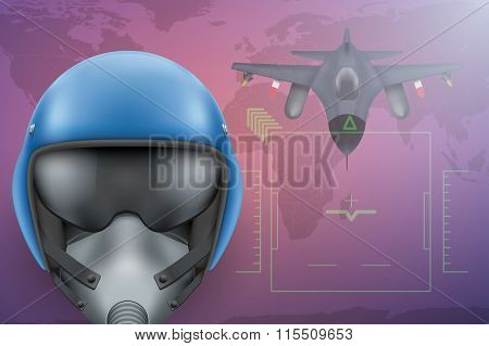 Military Pilot  background