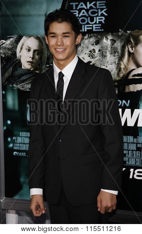 BooBoo Stewart at the Los Angeles Premiere of