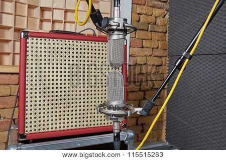 Two Microphones In Blumlein Orientation