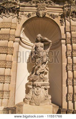 Nymph sculpture, Zwinger Palace