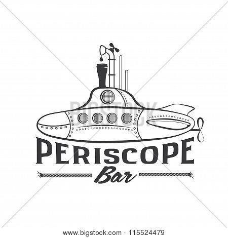 Submarine With Beer Dispenser Periscope Concept