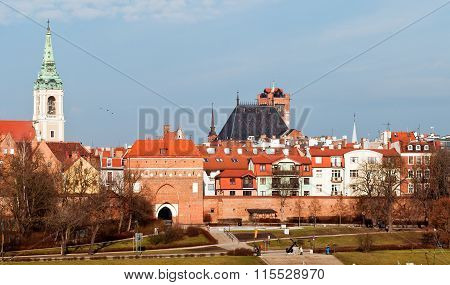 Poland.The City Of Torun.The birthplace of the Polish mathematician Copernicus poster