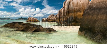 Ance Source D'argent Beach, La Digue