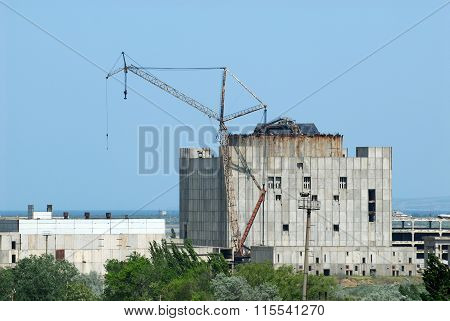 Unfinished Crimean Atomic Energy Station