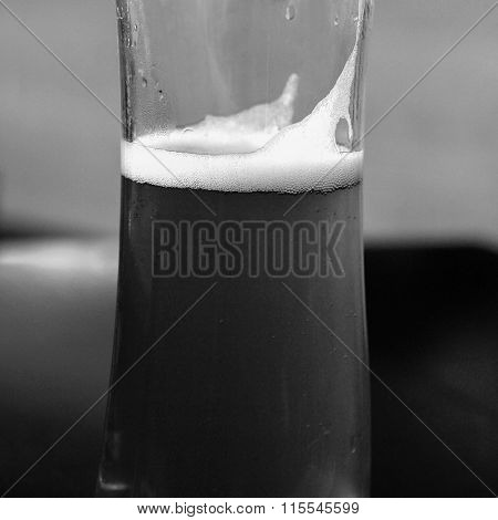 Black And White Beer Picture