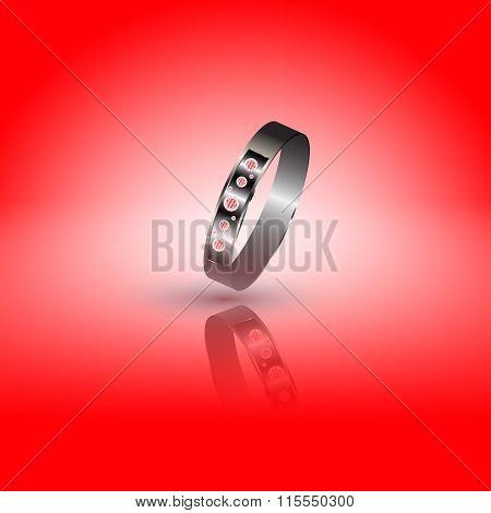 Precious Ring With Diamonds