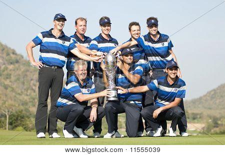 Europe Wins Royal Trophy