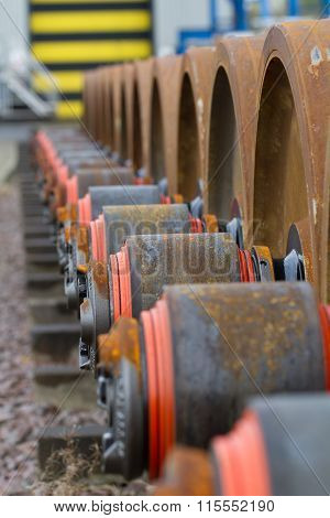 Railway Locomotive Wheel Bogies