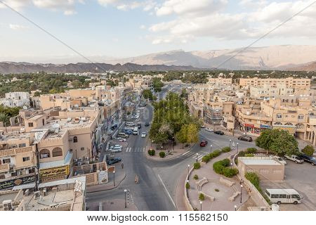 View Over The City Of Nizwa, Oman