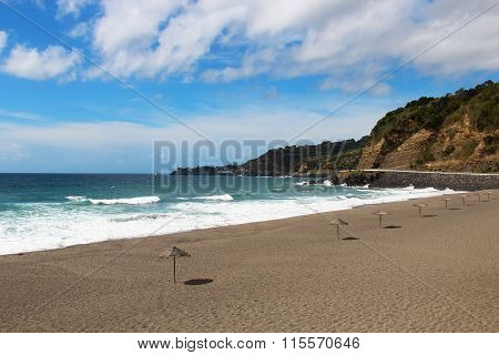 Beach On St. Miguel Island, Azores