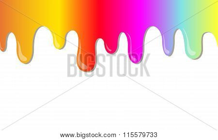 Vector Rainbow Stains