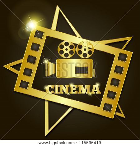 Golden Retro Cinema