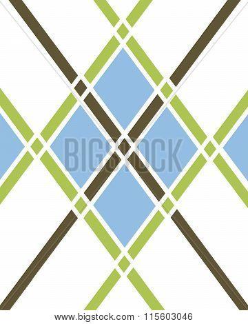 Argyle Pattern - Vector