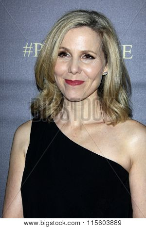 LOS ANGELES - JAN 21:  Sally Phillips at the Pride And Prejudice And Zombies Premiere at the Harmony Gold Theatre on January 21, 2016 in Los Angeles, CA