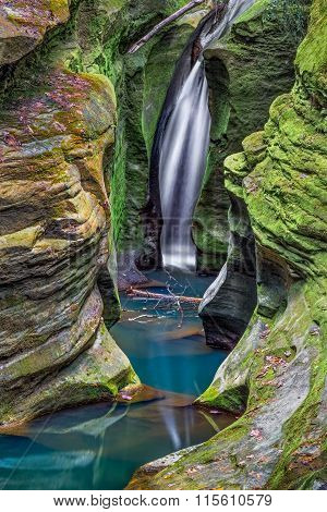Corkscrew Falls In Ohio