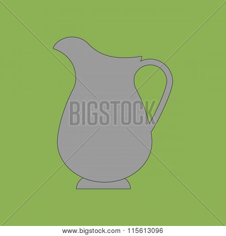 Decanter Carafe Vector Icon
