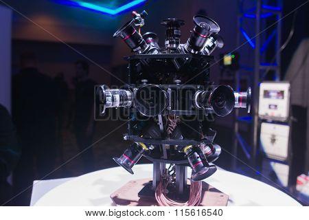 360 Degree Virtual Reality Camera System