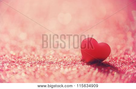 Valentine's day background with hearts. the concept of love and Valentine's day.