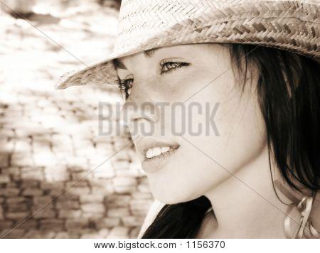 Sepia Cowgirl