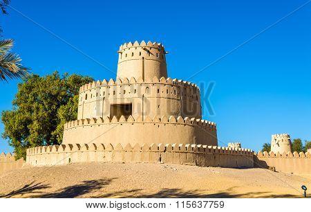 Tower Of Al Jahili Fort In Al Ain, Uae