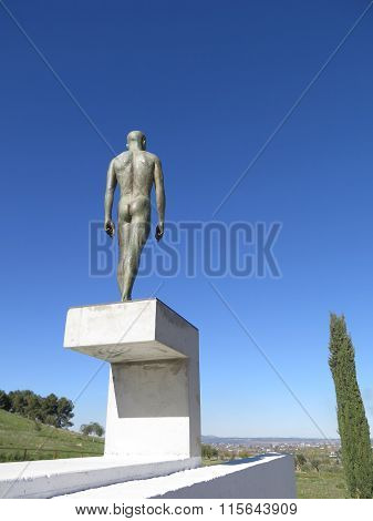 Statue Of Naked Man