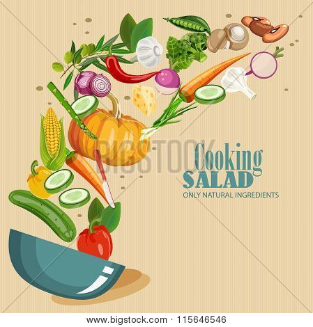 Cooking Salad poster