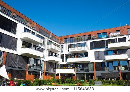 Modern apartments with garden