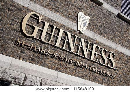 Guiness storehouse in Dublin