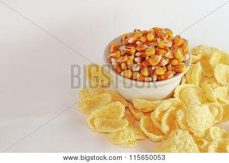 Corn And Corn Flakes