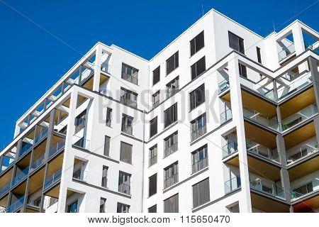 Modern block of flats in Berlin