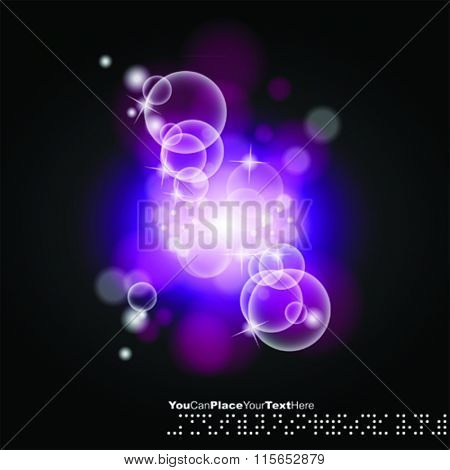 vector luminescence background