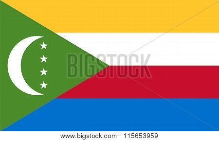 Standard Proportions For The Comoros Flag