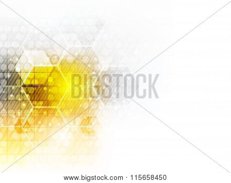 Abstract future business technology background.