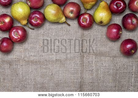 Rustic Fruits Background