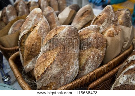 Bread In The Market