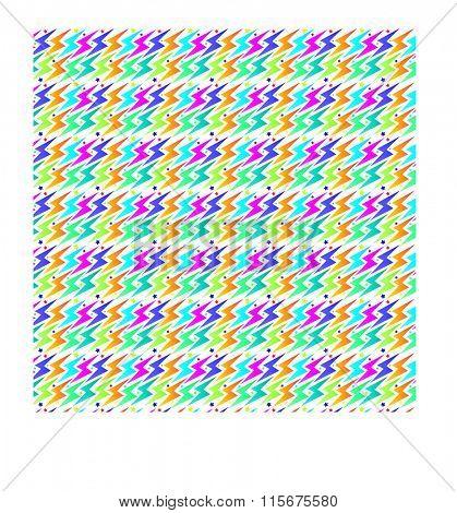 lightening bolt pattern
