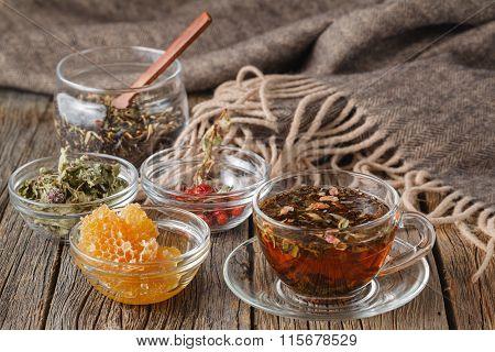 Folk Alternative Medicine Concept