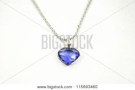 beautiful blue pendant