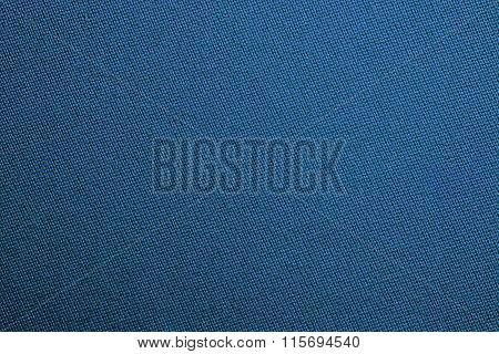 Blue Biliard Cloth Color Texture Close Up