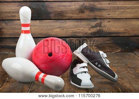 Ten Pin Bowling.