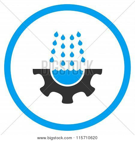 Water Service Rounded Icon